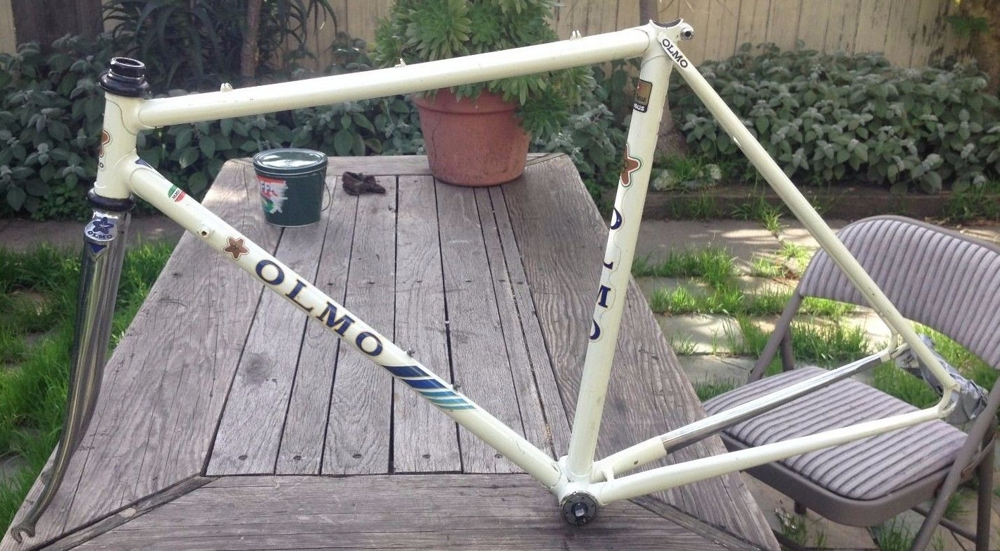Campagnolo and chrome Made in Italy decals